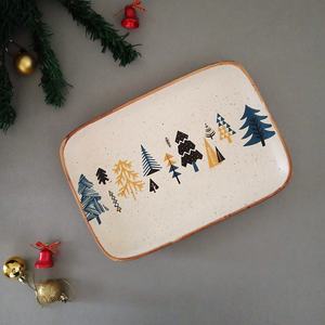 Xmas - Rectangle Platter