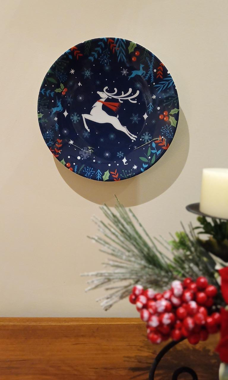 Xmas Reindeer - Decor Plate