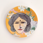 Sassy Lady - Decor Plate