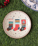 Xmas Stockings - Decor Plate