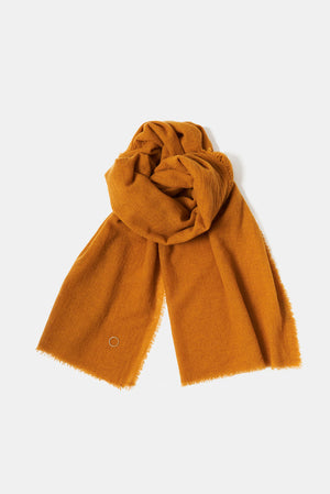Esra Cashmere Shawl in Honey