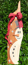 Reclaimed Wood Holiday Snowman