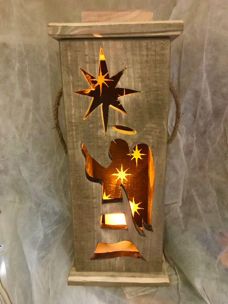 Wooden Christmas Lanterns