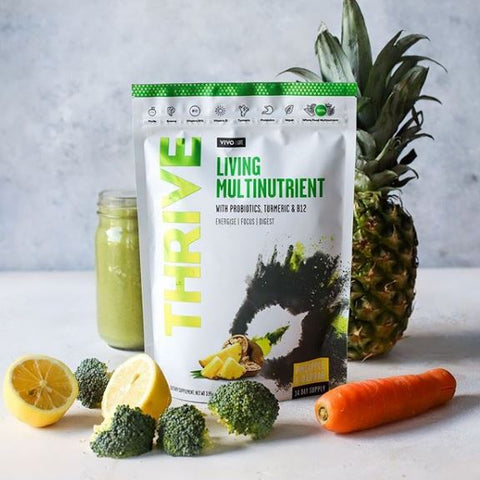 VIVO LIFE THRIVE LIVING MULTINUTRIENT PINEAPPLE BAOBAB 112g