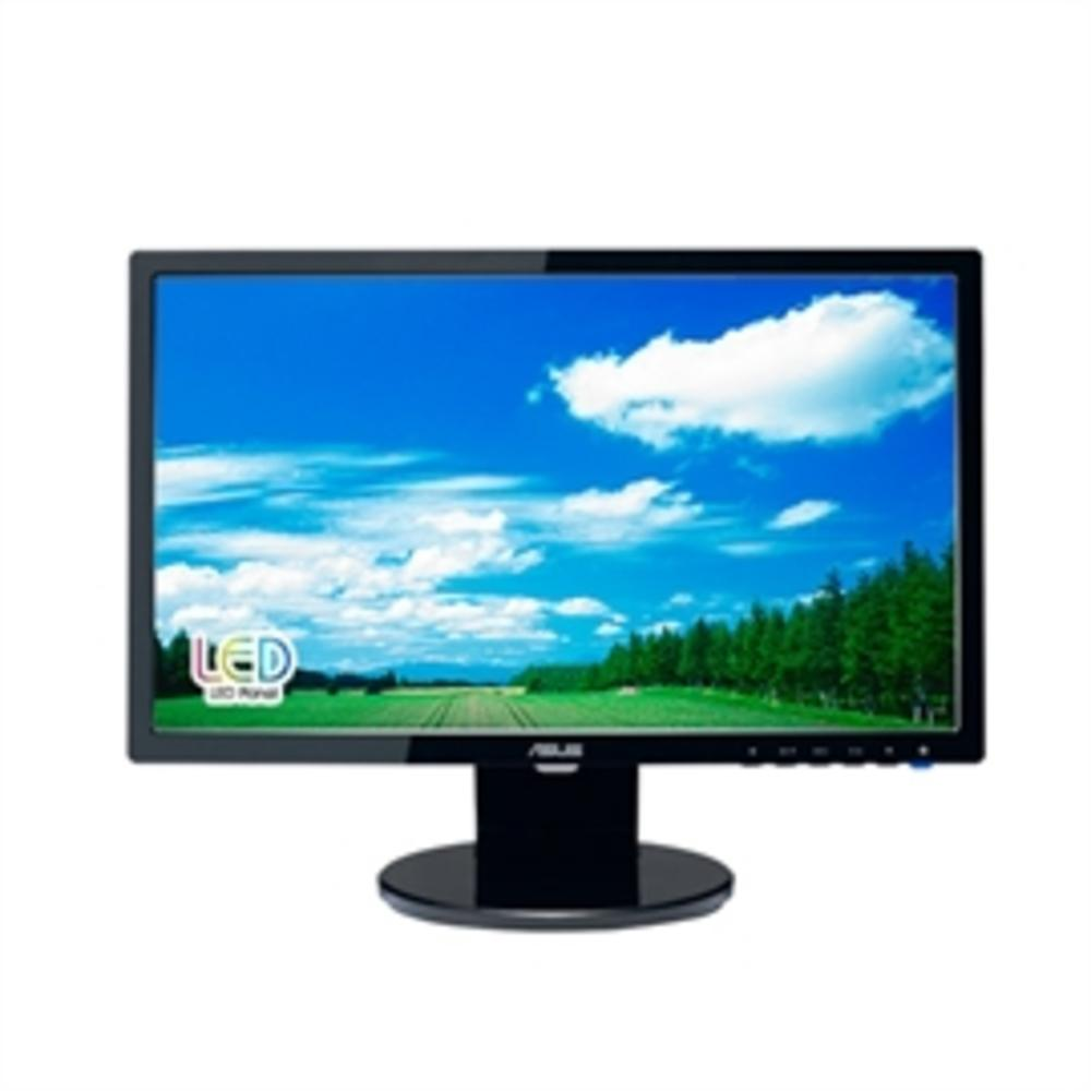 Asus LCD VE198T 19inch LED Backlight Wide DVI VGA 1440x900 10000000:1 5ms Speaker Retail