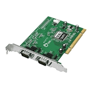 SIIG IO Card JJ-P02012-S7 CyberSerial Dual PCI Port Serial Card Retail