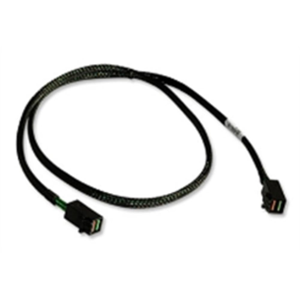 LSI Logic Cable 05-26112-00 1.0M SFF8643 to SFF8643 (mini SAS HD to mini SAS HD) Brown Box