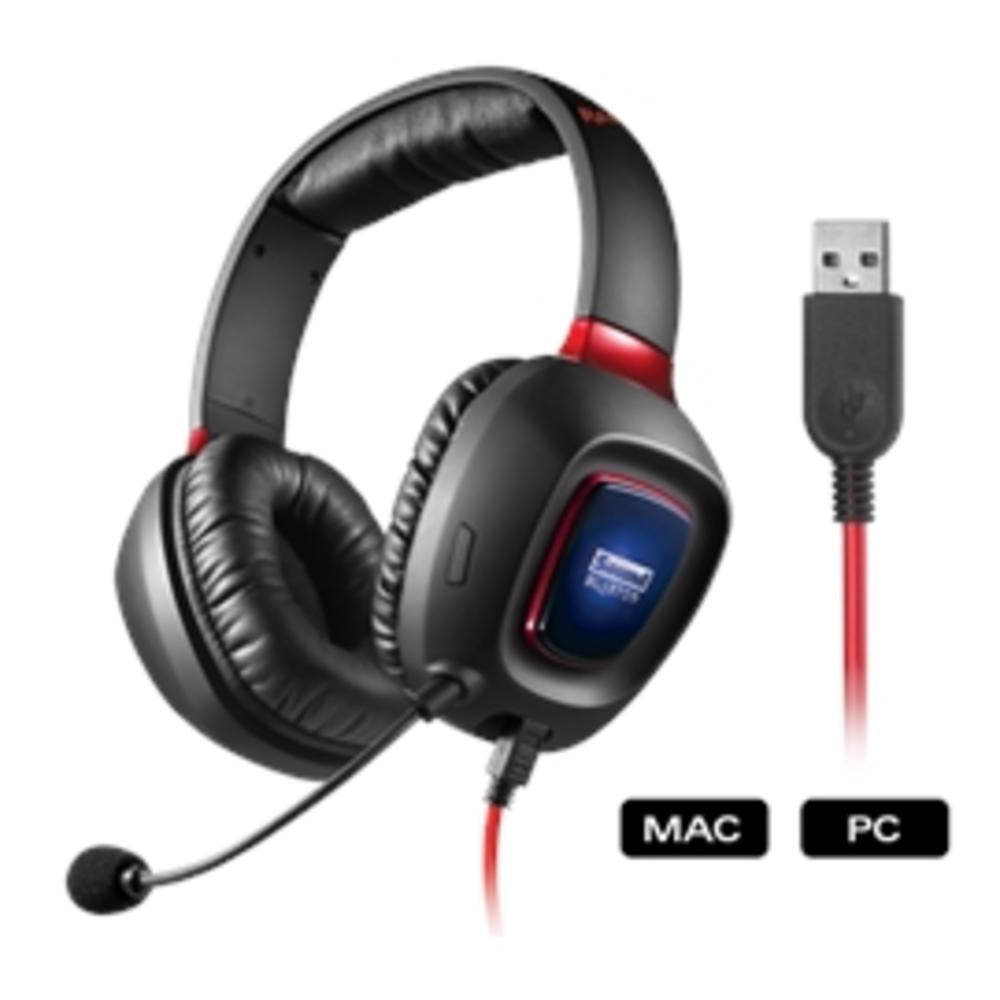 Creative Labs Headphone 70GH023000004 SoundBlaster Tactic3D Rage USB Gaming Headphone Retail