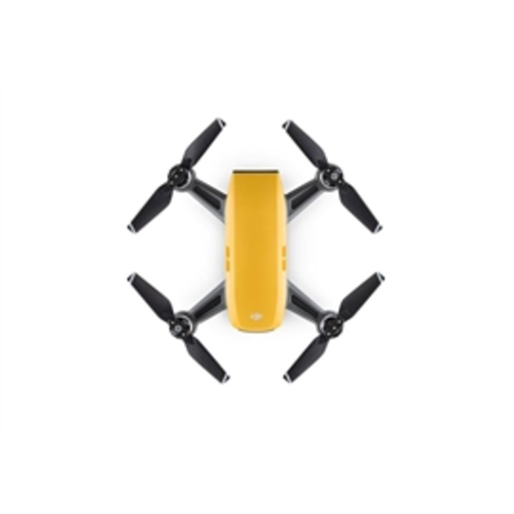 DJI Drone CP.PT.000900 SPARK FlyMore Combo-Sunrise Yellow Retail