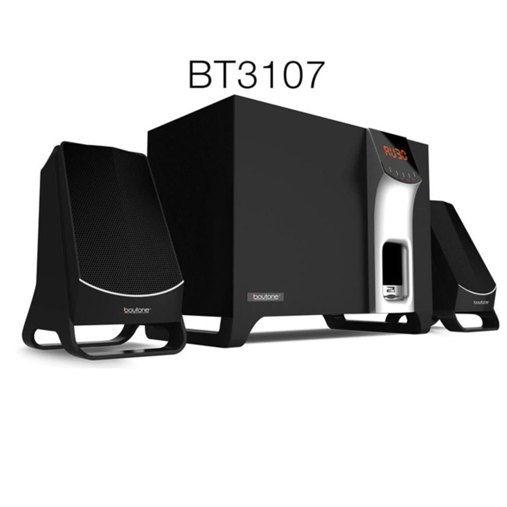 Boytone BT-3107F Wireless Bluetooth Speaker Powerful Bass System with FM
