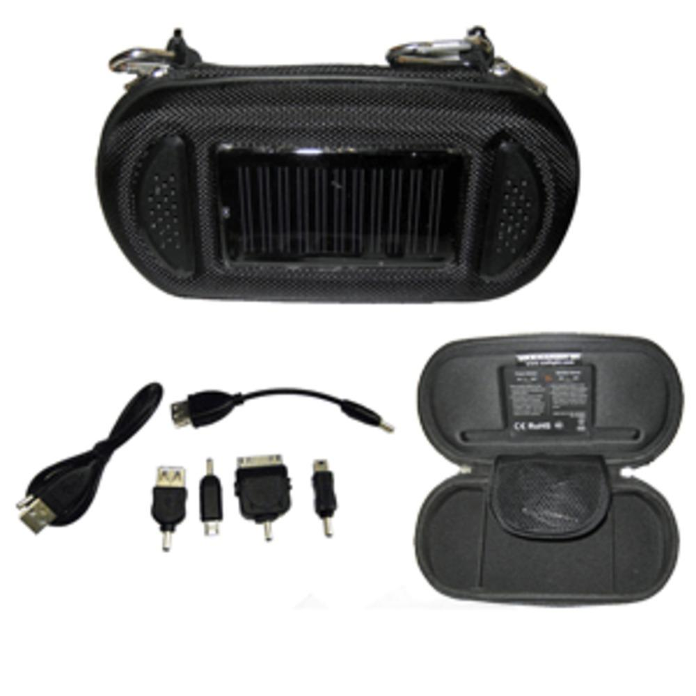 Davis SoliCharger-SP - Universal Solar Charger w-Speakers