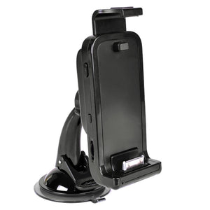 GPS - Phone Car Kit w-Built-in Bluetooth & 30-pin Dock Connector for iPhone (up to 4) & iPod touch (2nd-3rd gen) (Black)