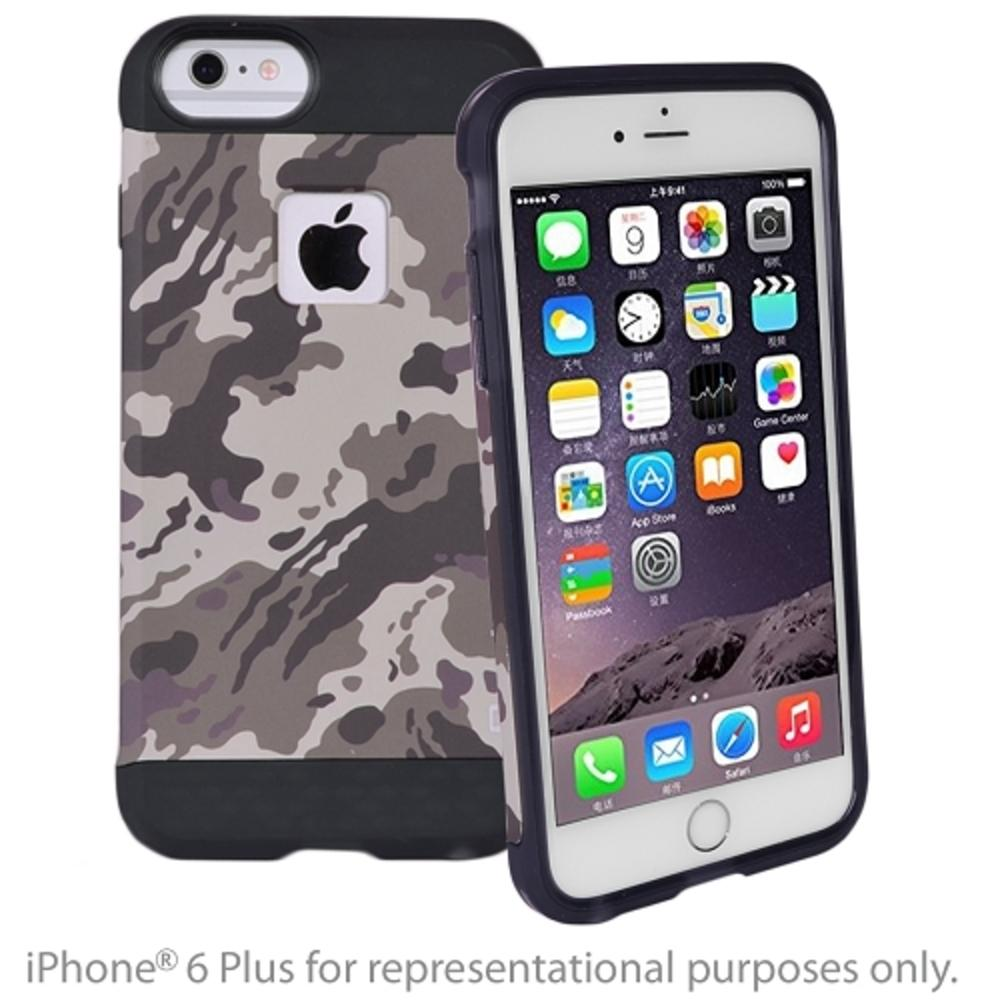 Qmadix X Series QM-XSAP-55CD iPhone 6-6s Plus Case (Camo Desert) - Retail Hanging Blister Package