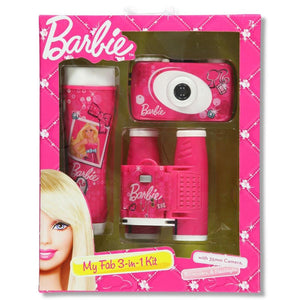 Barbie My Fab 3-Piece Adventure Kit with Camera, Flashlight, and Binocular