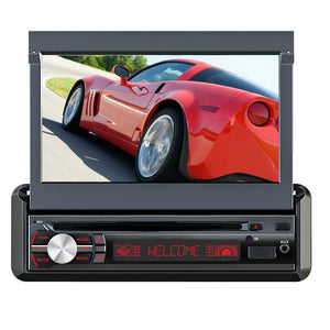 QFX Bluetooth Car Stereo System with 7 Inch Detachable Panel TFT Touch Screen
