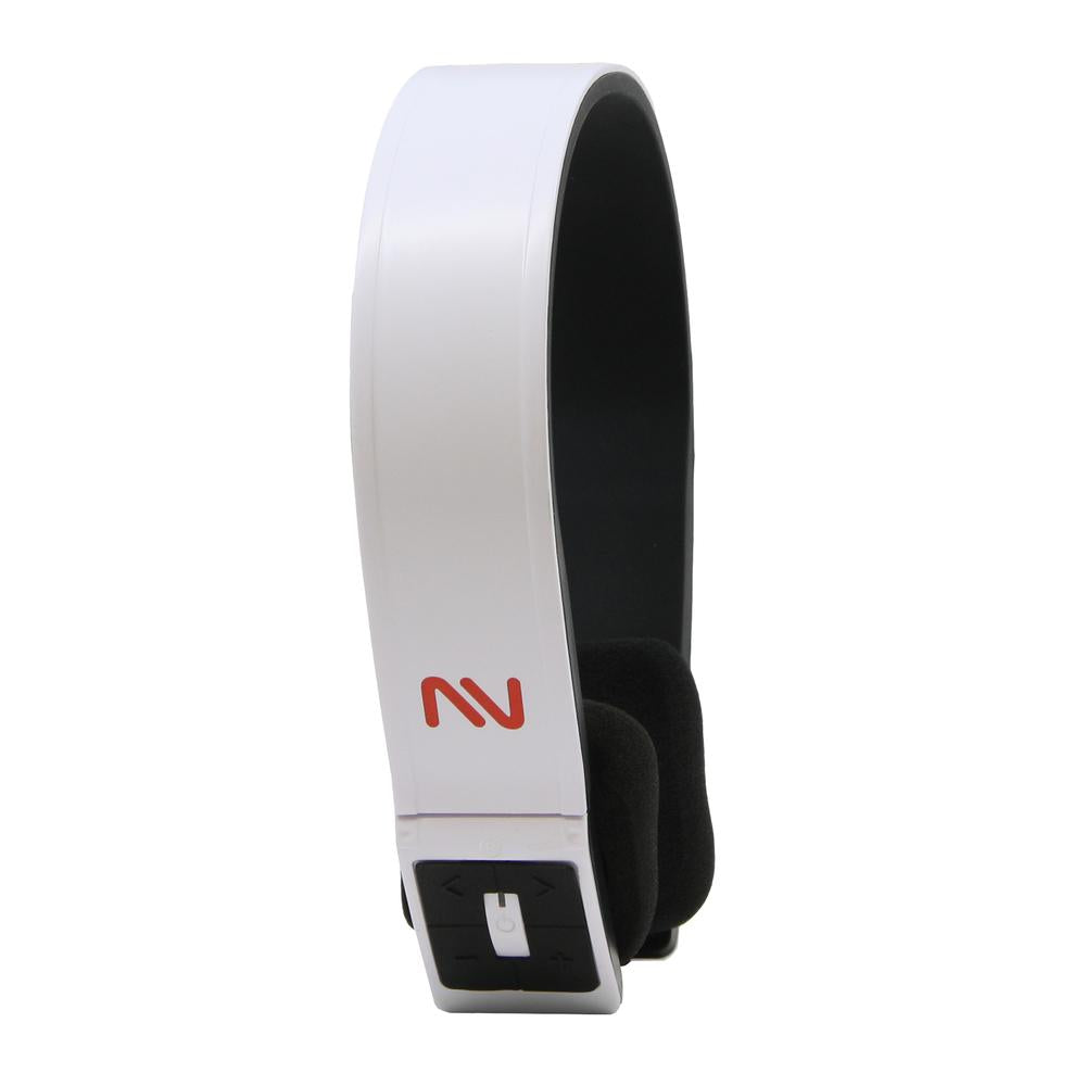 Nutek Bluetooth Headset with Microphone-White