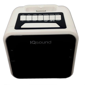 Supersonic 1.2 Display Alarm Clock-Radio for iPod and iPhone
