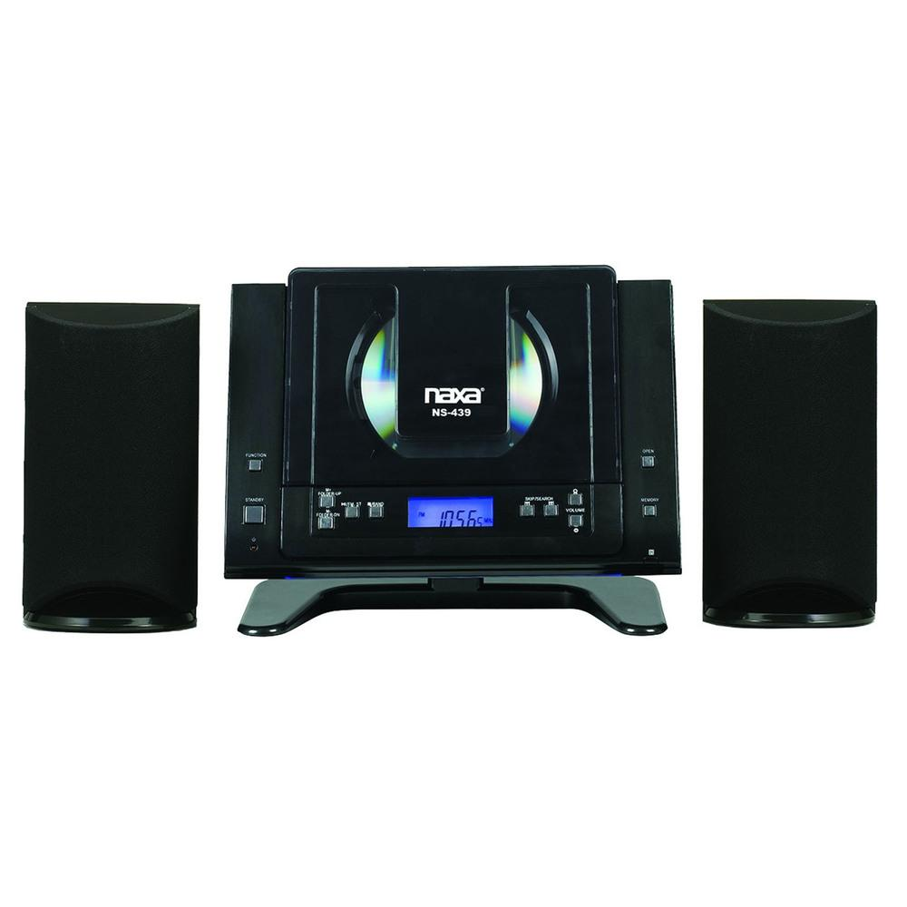 Naxa Digital CD Microsystem with Bluetooth