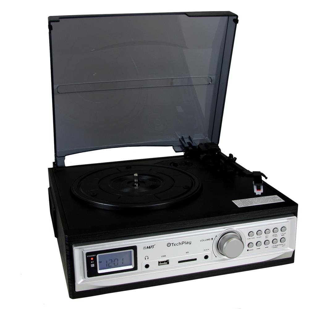 TechPlay 3-Speed Turntable