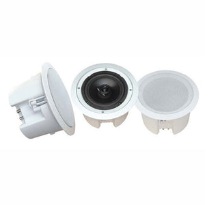 Pyle 8 In-Ceiling 2-Way Flush Mount Enclosure Speaker System