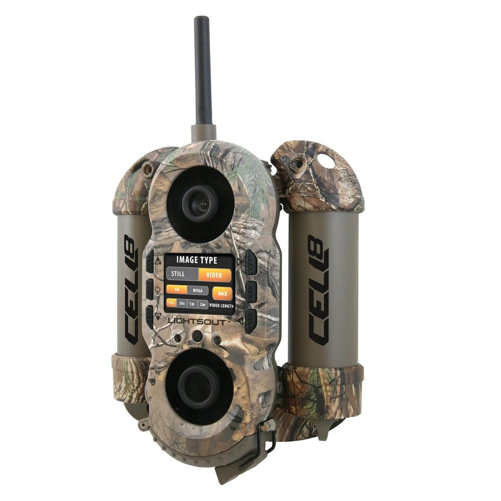 Wildgame Crush 8 Cell Trail Camera-Realtree Xtra