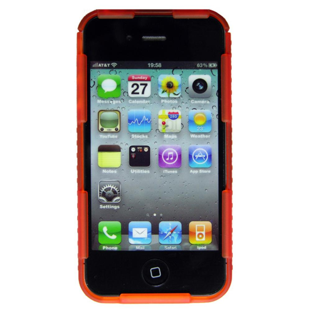 Nite Ize Connect Case Translucent Orange