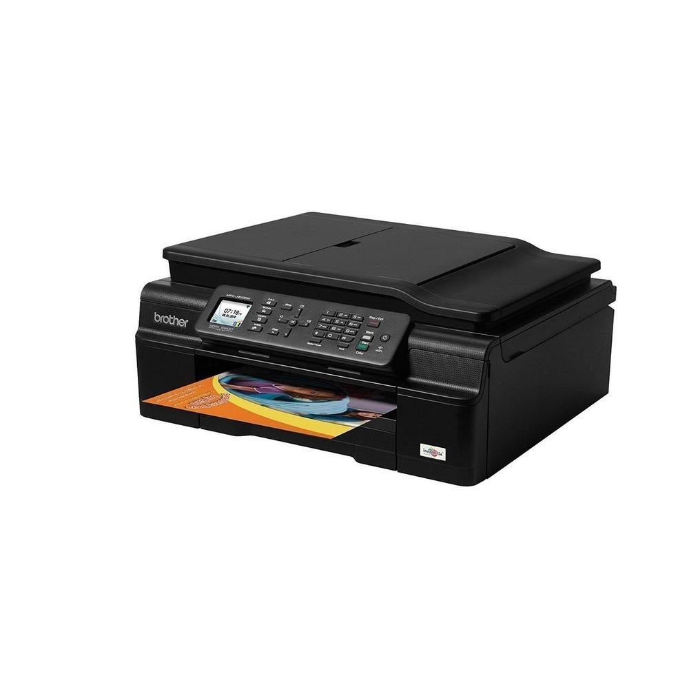 Brother MFC-J450DW MFCJ450DW Wireless USB With Scanner Copier and Fax InkJet Printer MFC-J450DW