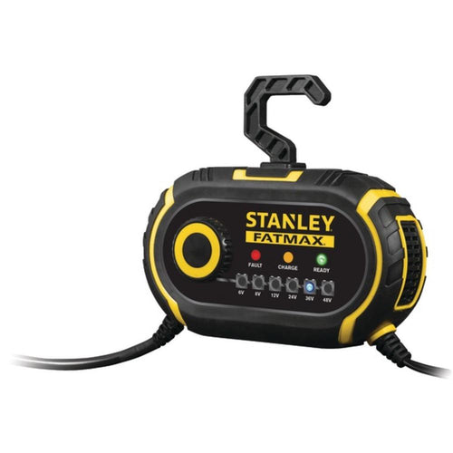 STANLEY(R) GBCPRO2 6-Volt-48-Volt Battery Charger-Maintainer for Golf Carts & Vehicles