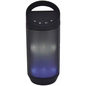 SYLVANIA(R) SP606-BLACK Bluetooth(R) Neon Light-Up Speaker