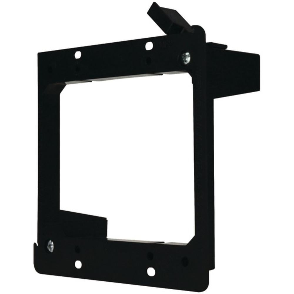 DataComm Electronics 60-0022-S Dual-Gang Low-Voltage Mounting Bracket