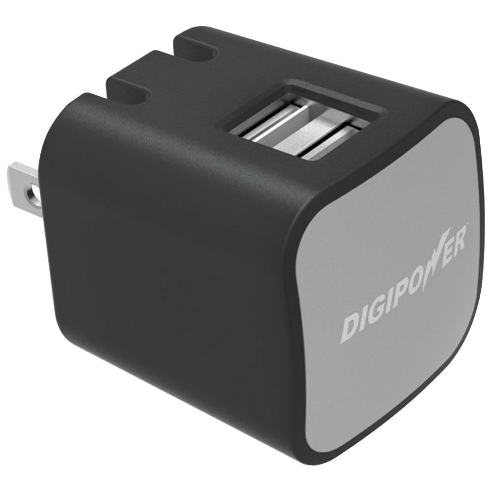 DIGIPOWER(R) IS-AC2D InstaSense(TM) 2.4-Amp Dual-USB Wall Charger