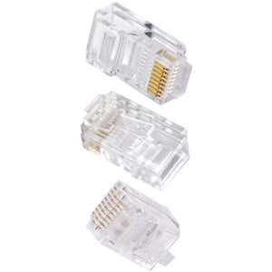 Ethereal(R) C6T 8-Pin CAT-6 Crimp Connector, 50 pk