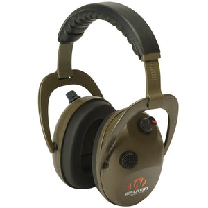 Walkers Game Ear(R) GWP-WREPMBN Alpha Power Muff D-Max Green Headphones with Microphone