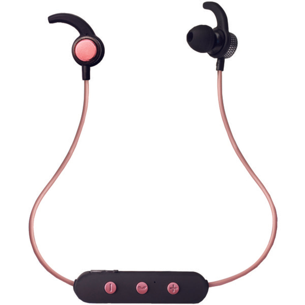 iEssentials(R) IE-BTESS-RGLD Sweet Sounds Bluetooth(R) Headphones with Microphone (Rose Gold)