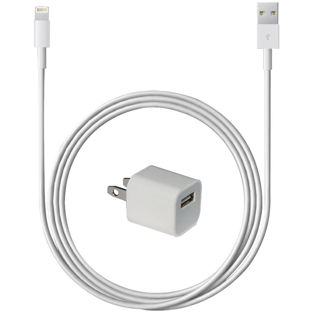 iEssentials(R) IPLH5-AC-WT Wall Charger with Lightning(R) Connector