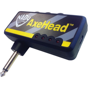 Nady(R) AxeHead AxeHead(TM) Mini Headphone Guitar Amp