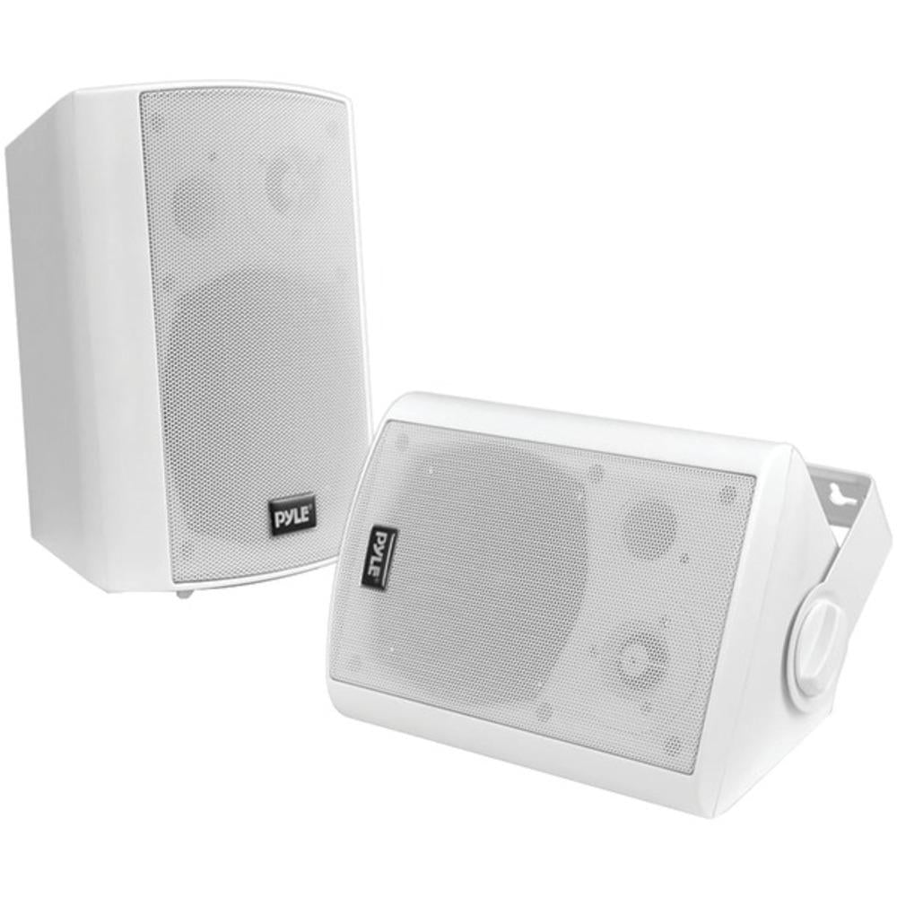 Pyle Home(R) PDWR61BTWT 6.5 Indoor-Outdoor Wall-Mount Bluetooth(R) Speaker System (White)