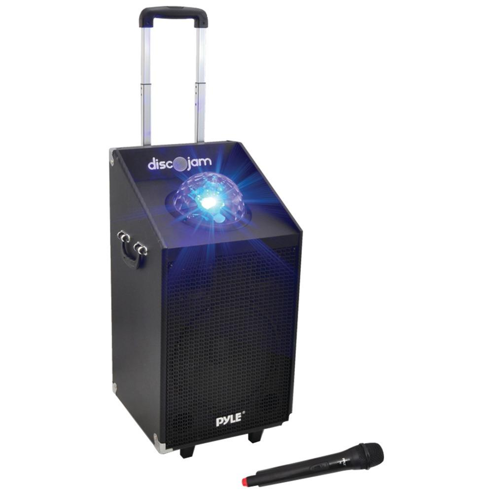 Pyle Pro(R) PWMA1594UFM 600-Watt Bluetooth(R) Battery-Powered Portable PA Speaker System