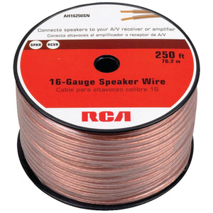 RCA(R) AH16250SR 16-Gauge Speaker Wire (250ft)