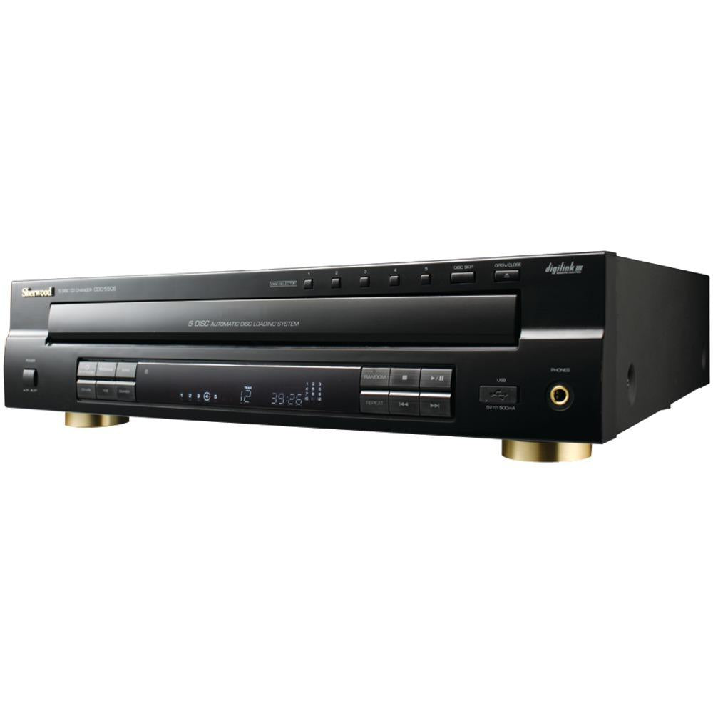 Sherwood(R) CDC-5506 5-Disc CD Changer