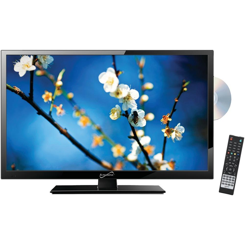 Supersonic(R) SC-2212 22 1080p LED TV-DVD Combination, AC-DC Compatible with RV-Boat