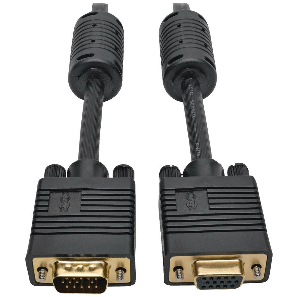 Tripp Lite(R) P500-003 VGA Coax High-Resolution Monitor Extension Cable, 3ft