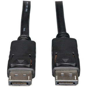 Tripp Lite(R) P580-015 DisplayPort(TM) to DisplayPort(TM) Cable with Latches, 15ft