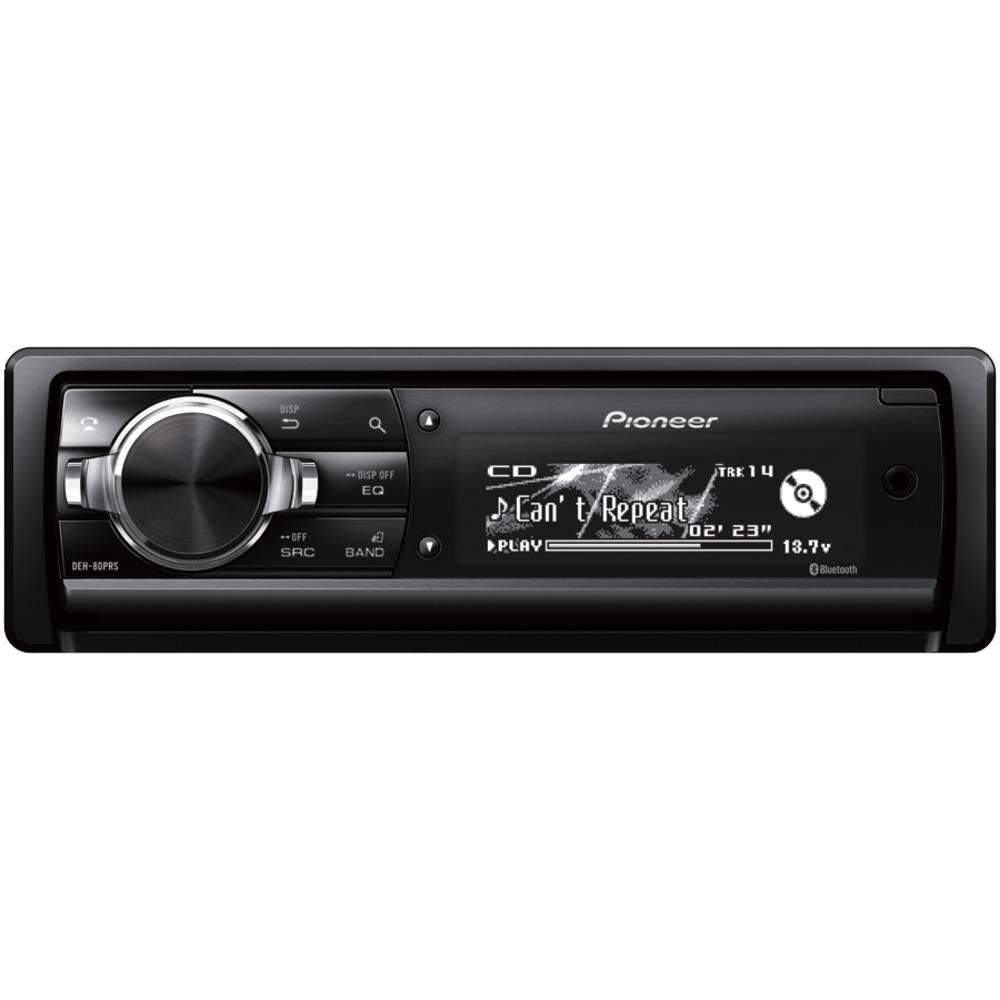Pioneer Single-din In-dash Cd Receiver With Bluetooth PIODEH80PRS