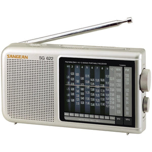 Sangean 12-band Compact World Band Receiver With Led SNGSG622