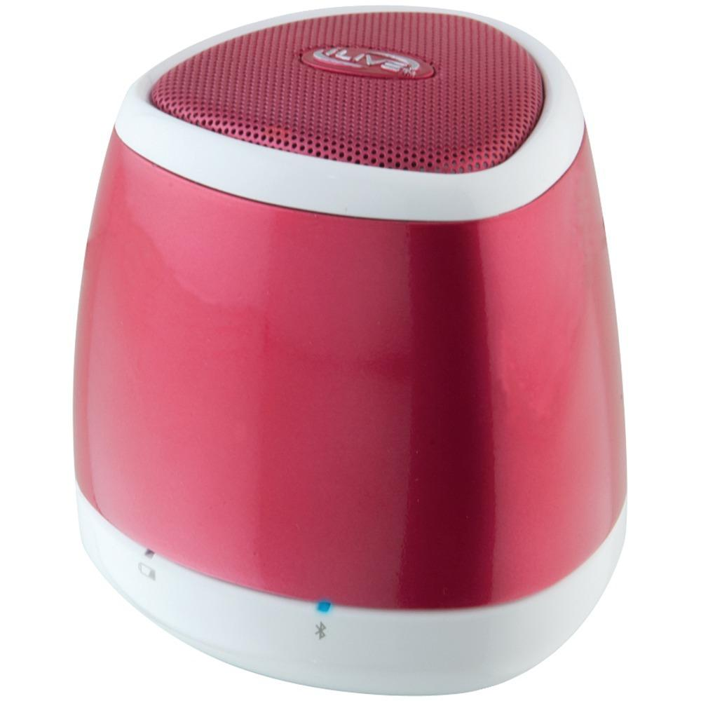 Ilive Blue Portable Bluetooth Speaker (red) GPXISB23R