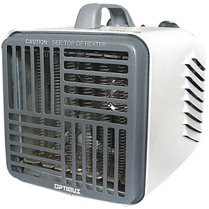 Optimus Mini Compact Utility Heater With Thermostat OPSH3001