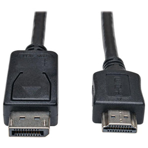 Tripp Lite Displayport To Hdmi Adapter Cable, 3 Ft TRPP582003