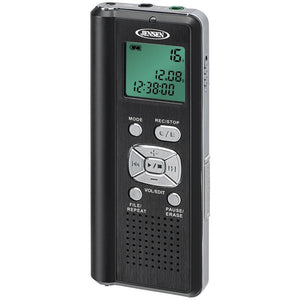 Jensen 4gb Digital Voice Recorder With Microsd Card Slot JENDR115