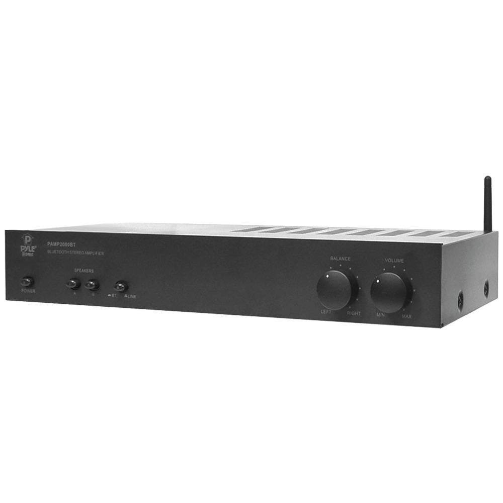 Pyle Pro 240-watt Bluetooth Digital Power Amp PYRPAMP2000BT